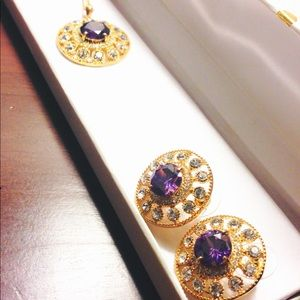 Jewelry - ✨ Fine Gold Plated Necklace/Earrings set